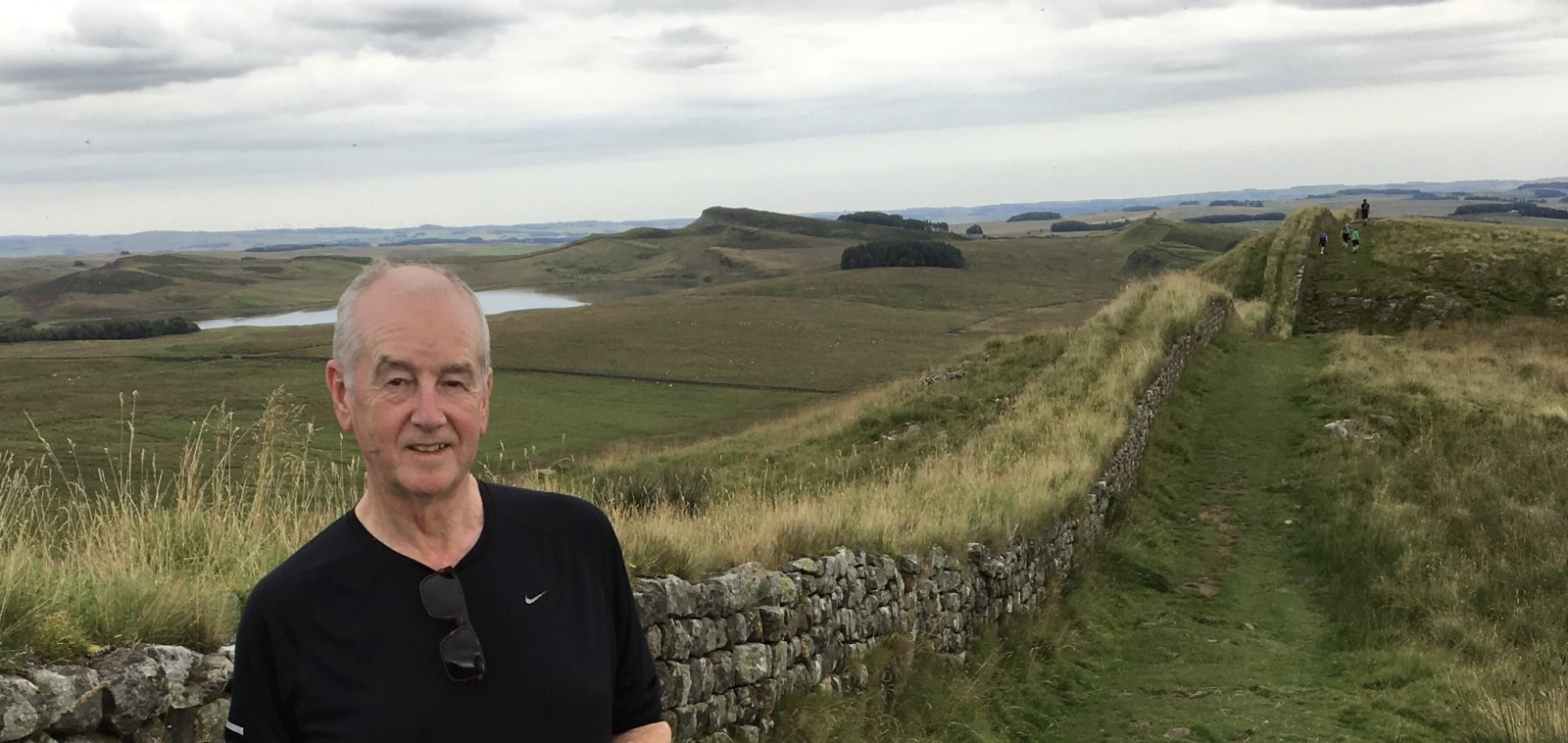 David Almond on Hadrian's Wall