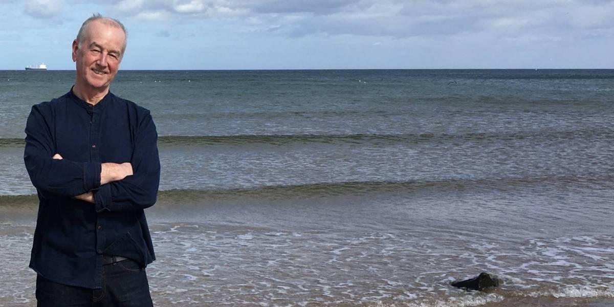 David Almond at the seaside