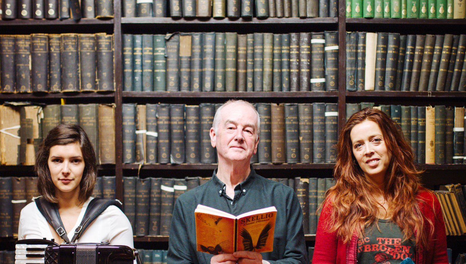 David Almond and Kathryn Tickell with Amy Thatcher: The Tales and Tunes Tour