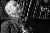 David Almond in library photo by Donna Lisa Healy